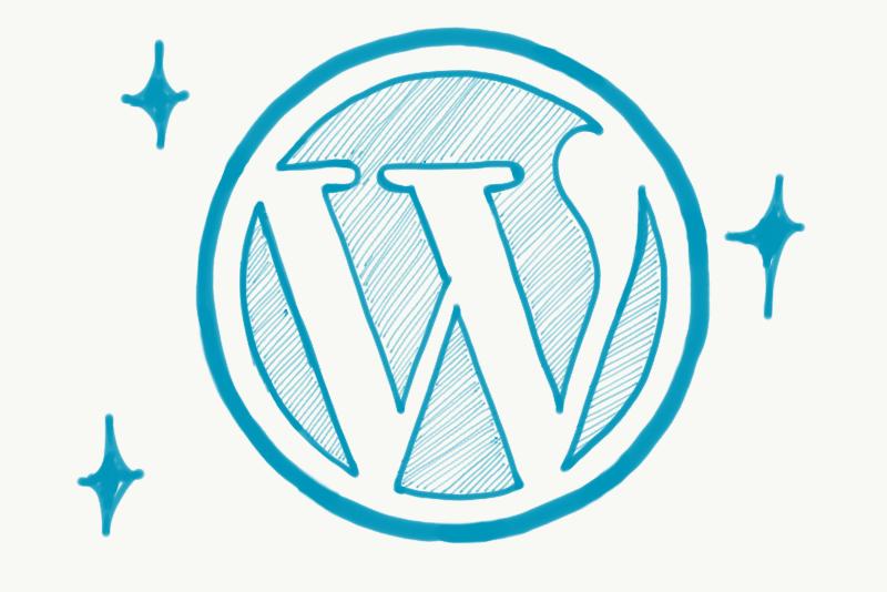 手書きワードプレスロゴ